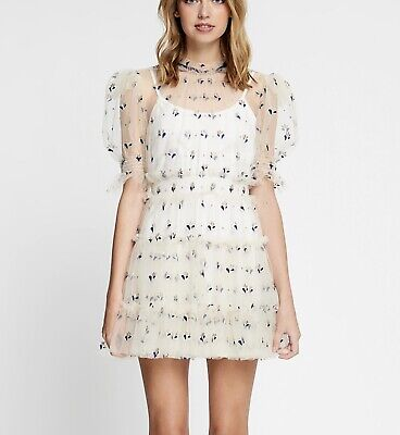 AU150 • Buy Alice Mccall 6 Cowboys Tears Mini Dress In Creme