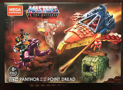 $65 • Buy Masters Of The Universe Mega Construx Set Panthor At Point Dread! Sealed Mint