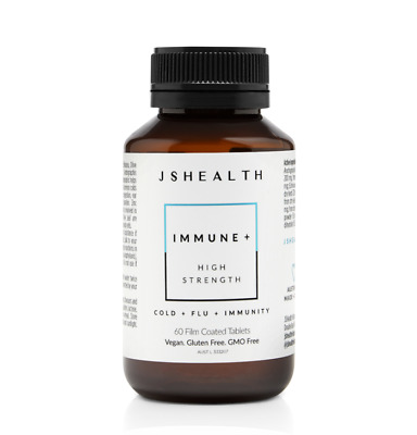 AU49.95 • Buy Js Health Immune + 60t - Cold + Flu + Immunity