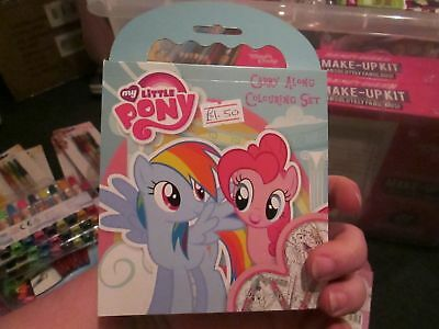 My Little Pony - Licensed Mini Carry Along Colouring Set • 2.39£
