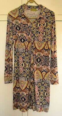 N & Willow Patterned Button Up Shirt Dress Size S/M • 15£