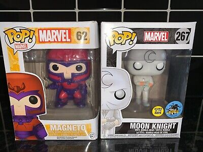 2x Funko Pop! Marvel Figure Bundle Magneto And Moonknight Figures • 33£
