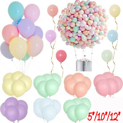£3.49 • Buy 100 Quality Pastel Finish 10  INCH Small Round Latex Balloons Choose Colour