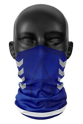 Inspired By Everton Football Colours Snood Face Mask Head Scarf Neckerchief Buff • 11.99£
