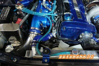 $21.41 • Buy 2 METRE BLUE SILICONE VACUUM HOSE AIR ENGINE BAY DRESS UP 14mm FIT MUSTANG