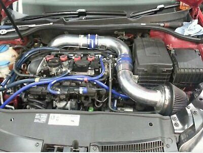 $35.27 • Buy AUTOBAHN88 Engine Silicone Air Vacuum Hose Dress Up Kit CLEAR BLUE Fit FORD