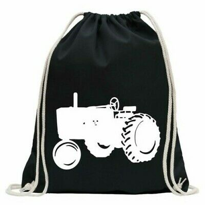 AU32.77 • Buy Tractor - Large Tractor Gym Bag Fun Backpack Sports Pouch Gymsack To