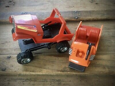 $24 • Buy Vintage 1985 Kenner MASK Gator Jeep & Boat Insert Launching Toy Vehicle M.A.S.K.