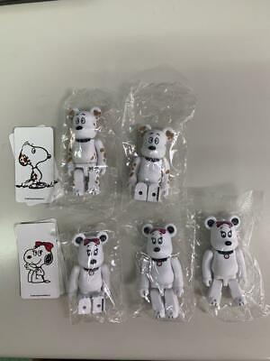 $95.48 • Buy Bearbrick Series 40 Cute Peanuts Front 3 Back 2 Pieces Set