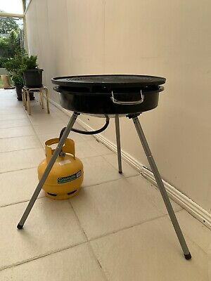 AU1.25 • Buy Jumbuck Portable BBQ With Gas Bottle