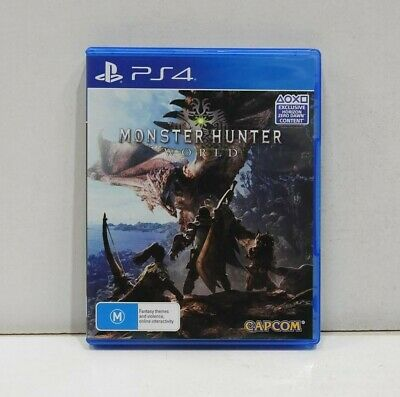 AU34.99 • Buy Monster Hunter World PS4 Game