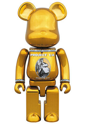 $225 • Buy BEARBRICK CENTURION GOLD Chogokin 200% BE@RBRICK  Medicom Toy