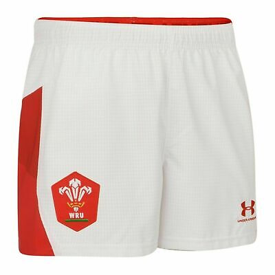 £24.98 • Buy Under Armour WRU Authentic Alternate Airvent AG Shorts Welsh Rugby