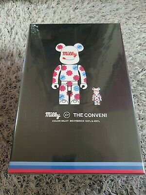 $279 • Buy BEARBRICK MILKY THE CONVENI Peko 100%&400% Medicom Be@rbrick Fragment