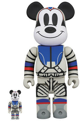 $299 • Buy BEARBRICK BILLIONAIRE BOYS CLUB MICKEY MOUSE 100%&400% Medicom Be@rbrick BBC