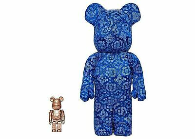 $635 • Buy Bearbrick Nike Clot 100%&400% Medicom Toy Be@rbrick