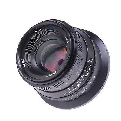 $ CDN201.64 • Buy 35mm F1.4 Full Frame Large Aperture Manual Focus Prime Lens For Sony A7R II A9
