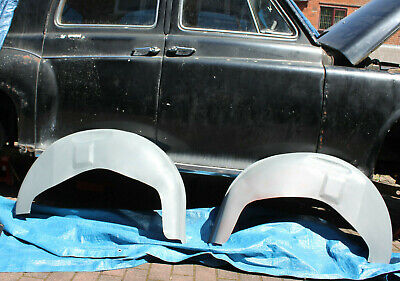 Pair Of New Remanufactured Later P4 Rover Rear Arch Inner Wings Arches In Steel  • 170£
