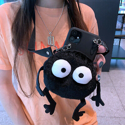 AU8.88 • Buy Hot Briquettes Anime Wallet Crossbody Cute Cartoon Case Cover For Various Phone