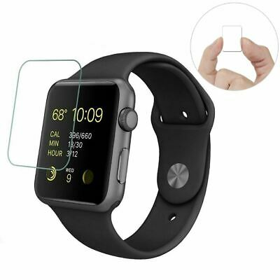 $ CDN3.59 • Buy For Apple Watch Series 6 SE 5 4 3 38/40/42/44mm Tempered Glass Screen Protector