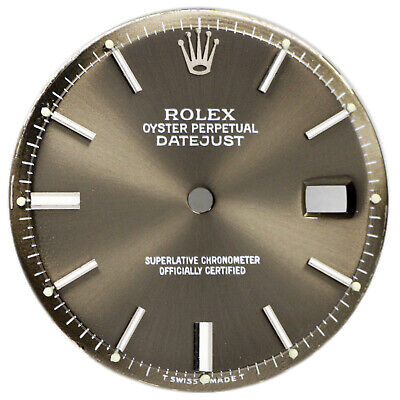 $ CDN500.03 • Buy Rolex Oyster Perpetual DateJust Pie Pan Dial Ref 1600 1601 1603