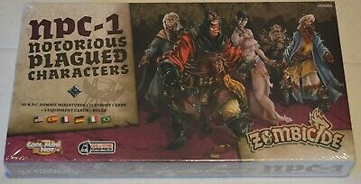 AU35 • Buy Zombicide Black Plague NPC 1 Notorious Plagued Characters