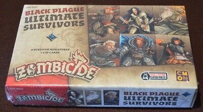 AU90 • Buy Zombicide Black Plague Ultimate Survivors Kickstarter