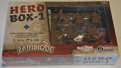 AU64 • Buy Zombicide Black Plague Hero Box 1