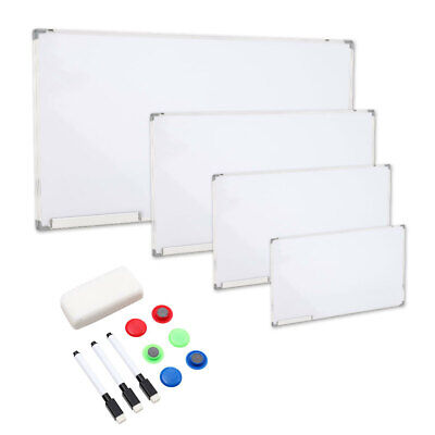 600-1200mm XL Large Magnetic Whiteboard Notice Meeting Wall White Board Dry Wipe • 39.95£