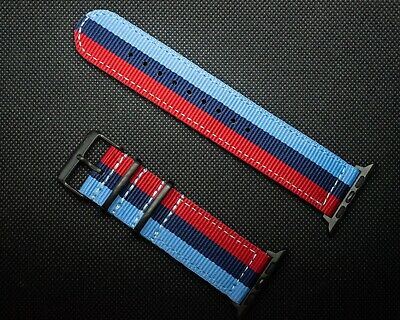 AU21.87 • Buy Motorsport Apple Watch Band For 42mm Series 1-6 And SE