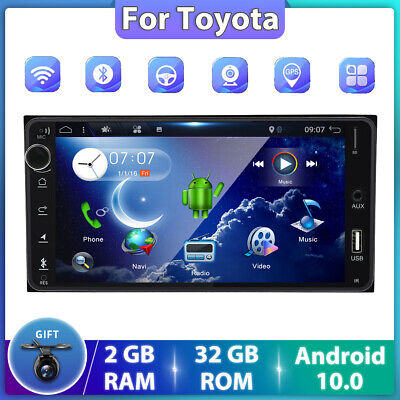 AU227.99 • Buy 7 Android 10.0 Car GPS Head Unit Stereo For Toyota Universal FM/AM Player DAB+BT