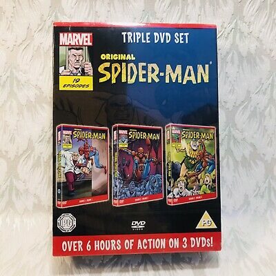 New Original Spider-Man Series Season 2 - Triple 3 DVD Box Set Animated Cartoon • 29.99£
