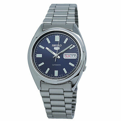 $ CDN123.07 • Buy Seiko Men's SNXS77 Seiko 5 Automatic Blue Dial Stainless Steel Bracelet Watch