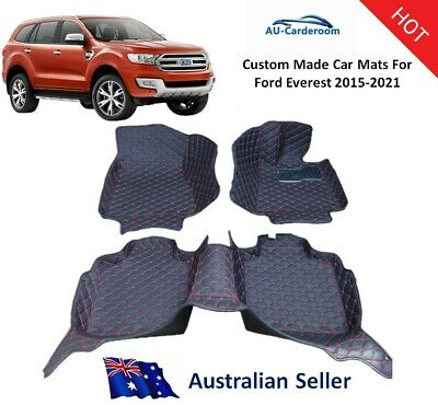 AU132 • Buy Ford Everest 2015-2021 Full Surrounded Custom Tailored Car Floor Mats/Carpets