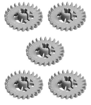 £2.27 • Buy LEGO 5x Technic, Gear 24 Tooth Crown - Engine / Gearbox Part *