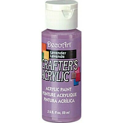 Paint Crafters Acrylic Lavender 2oz • 1.80£