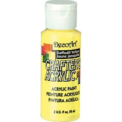Paint Crafters Acrylic Daffodil Yellow  2oz • 1.80£