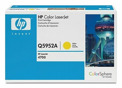 Original HP Toner Q5952a 643A Yellow For HP 4700N A-Ware • 74.23£