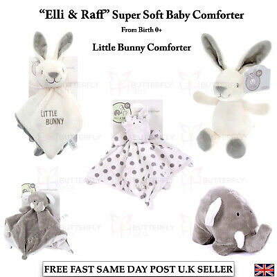£6.95 • Buy Little Bunny Design Super Soft Beanie Toy Comforter For Babies From Birth 0+