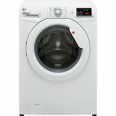 £299 • Buy Hoover H3W4102DE H-WASH 300 10Kg 1400 RPM Washing Machine White E Rated New