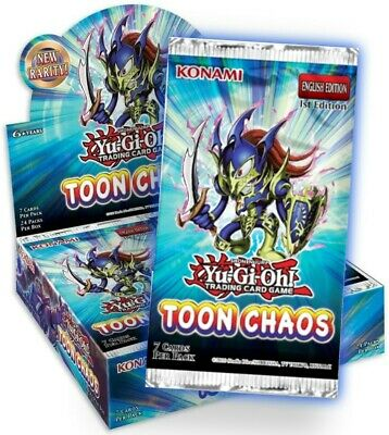 Yugioh - Toon Chaos Booster Pack - 1st Edition - New And Sealed  • 8.95£