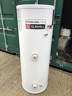 £430 • Buy Gledhill Stainless Lite+ Cylinder 210L (direct, Unvented)