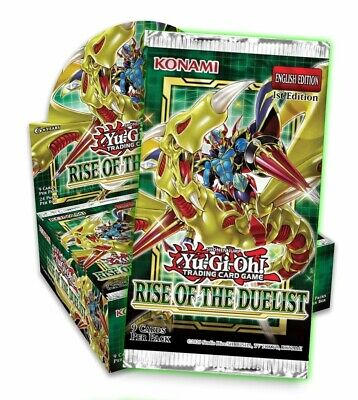 YuGiOh - Rise Of The Duelist Booster Pack - 1st Edition - New & Sealed • 5.99£