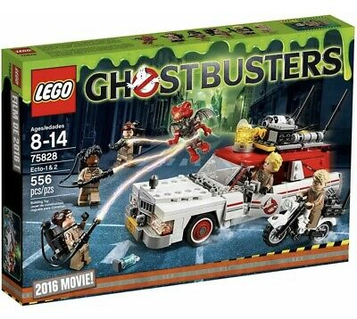 LEGO 75828 Ghostbusters Ecto 1 & 2 Set 2016 Movie Brand New Sealed • 79.99£