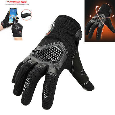 AU21.71 • Buy Adult Motorcycle Motorbike Scooter MX GLOVES Riding Racing Cycling Full Finger