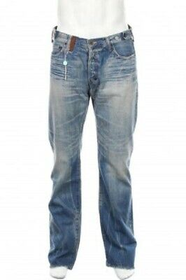 Deadstock Prps Barracuda Made In Japan P51p31xno Zimbabwe Cotton Jeans 34 • 168.16£