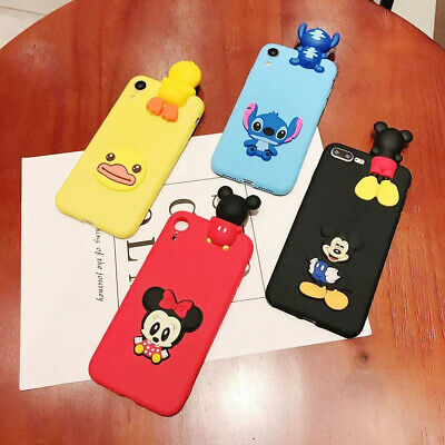 AU6.96 • Buy For OPPO Hot Popular Creative Stitch Cartoon Cute Toy Silicone Phone Case Cover