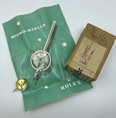 $ CDN330.35 • Buy Rolex Vintage 1960s Micro-Stella Watch Regulating Tool With Box And Instructions