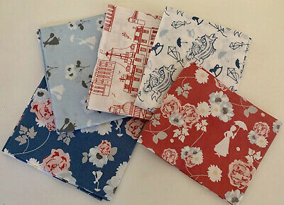 AU29.99 • Buy Disney MARY POPPINS  5 Fat Quarters Pack 100% Cotton 45 X 56cm Quilting Fabric