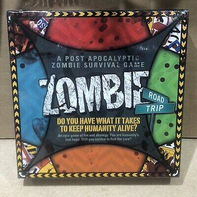 Zombie Road Trip (Board Game, 2013) *New And Sealed* 2-4 Players • 24.95£